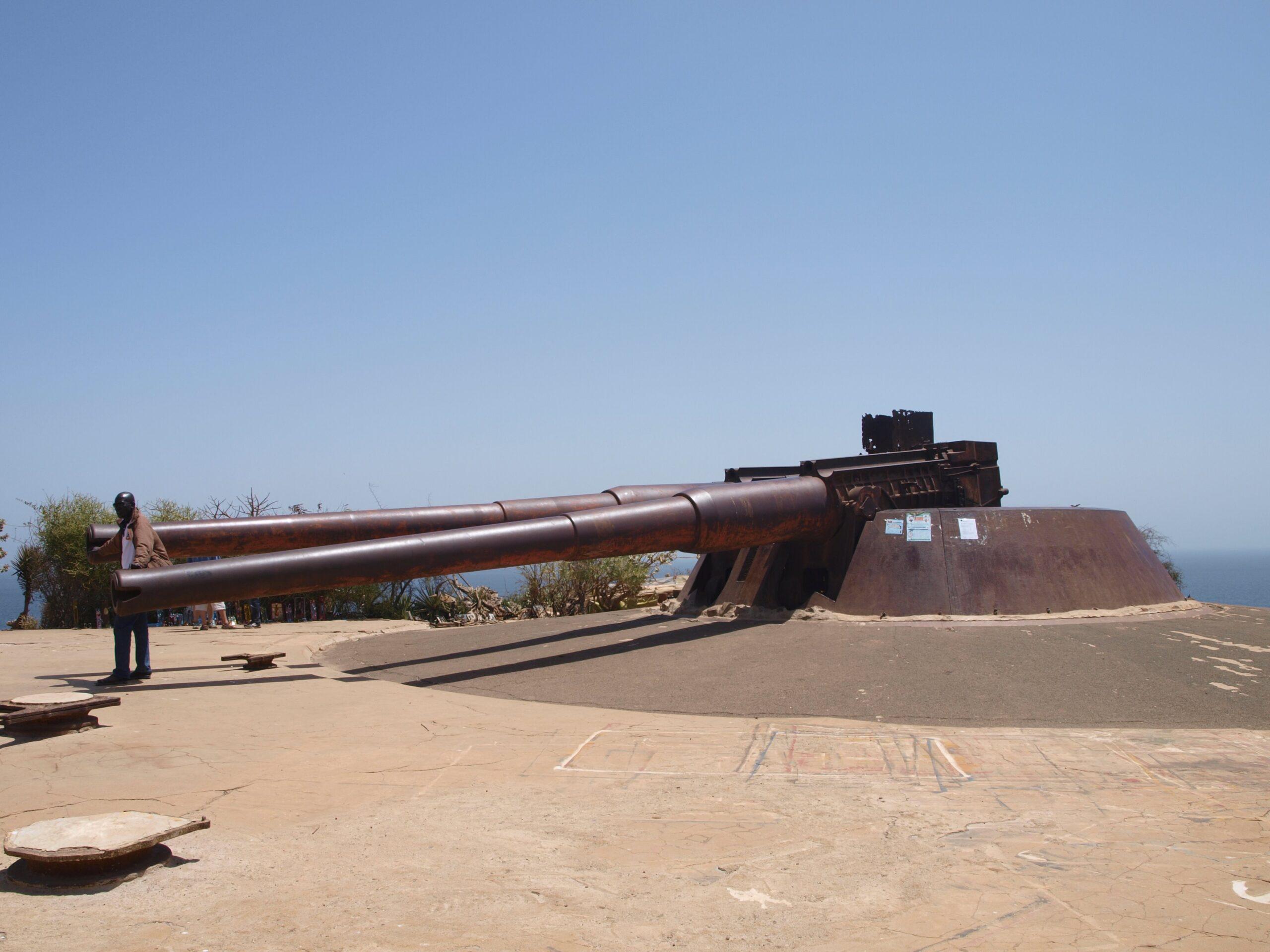 Cannoni costieri – Dakar